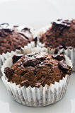 Chocolate muffins Stock Photo