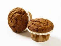 Chocolate Muffins Stock Photos