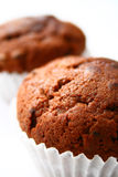 Chocolate muffins Stock Image