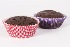 Brown muffins Royalty Free Stock Image