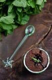 Chocolate muffins Stock Photo