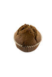 Chocolate muffins on the white background Stock Image