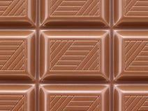 Chocolate nas barras Fotos de Stock