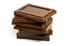 Chocolate negro Foto de archivo libre de regalías