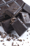 Chocolate negro Imágenes de archivo libres de regalías
