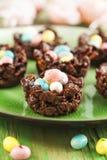 Chocolate nest Royalty Free Stock Image