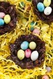 Chocolate nest Stock Image