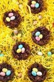 Chocolate nest Stock Photos