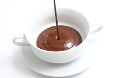 Chocolate no copo Imagens de Stock