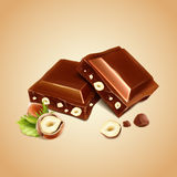 Chocolate Nut Royalty Free Stock Photos