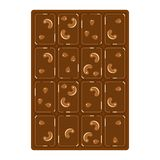 Chocolate with nuts Royalty Free Stock Photos