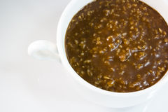 Chocolate oatmeal Royalty Free Stock Photography