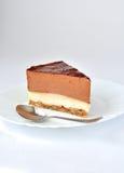 Chocolate and Orange Mousse Cake Stock Photo