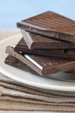 Chocolate oscuro foto de archivo