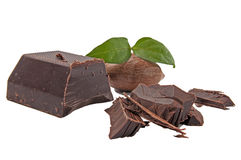 Chocolate oscuro fotos de archivo libres de regalías