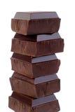 Chocolate oscuro fotografía de archivo