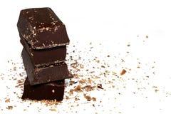 Chocolate oscuro fotografía de archivo libre de regalías