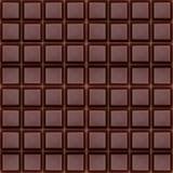 Chocolate oscuro puro, fondo inconsútil Imagen de archivo libre de regalías