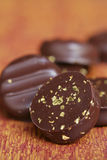 Chocolate Palets Stock Photos