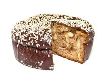 Chocolate Panettone Royalty Free Stock Photo