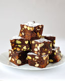 Chocolate Panforte Royalty Free Stock Image