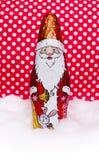 Chocolate Papá Noel imágenes de archivo libres de regalías