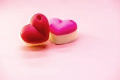 Chocolate para las tarjetas del día de San Valentín y el día más dulce Fotografía de archivo libre de regalías