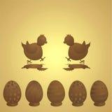 Chocolate pascua libre illustration
