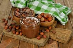 Chocolate paste Royalty Free Stock Photo