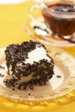Chocolate pastry Stock Photos