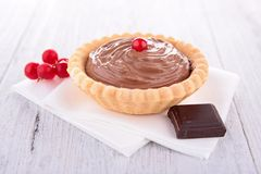 Chocolate pastry Stock Photo