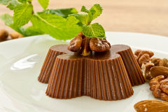 Chocolate peanut jelly Royalty Free Stock Images