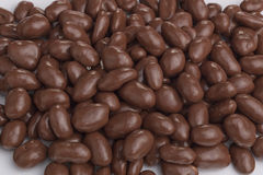 Chocolate peanuts Royalty Free Stock Photos