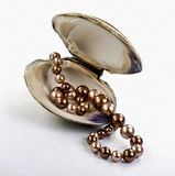 Chocolate Pearls. Stock Image