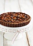 Chocolate Pecan Pie Stock Photography