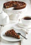 Chocolate Pecan Pie Royalty Free Stock Images