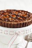 Chocolate Pecan Pie Royalty Free Stock Photography
