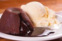 Chocolate Peiti Gateau Royalty Free Stock Photo