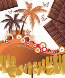 Chocolate pharidise Royalty Free Stock Photo