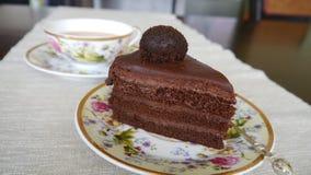 chocolate pie Royalty-vrije Stock Afbeeldingen