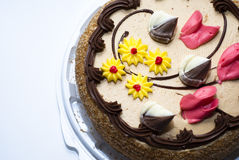 chocolate pie Imágenes de archivo libres de regalías
