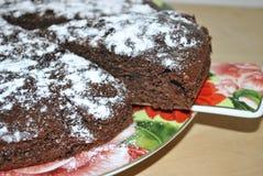 chocolate pie Royalty-vrije Stock Afbeelding