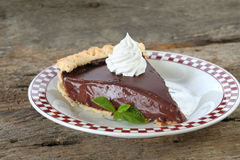 Chocolate Pie Stock Image