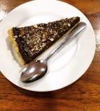 chocolate pie Fotografie Stock Libere da Diritti