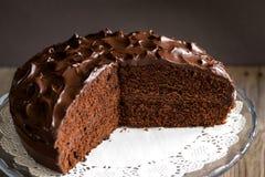 Chocolate pie Stock Photo