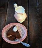 Chocolate pie Stock Image