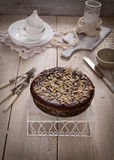 Chocolate pie Royalty Free Stock Photo