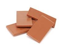 Chocolate pieces Stock Image
