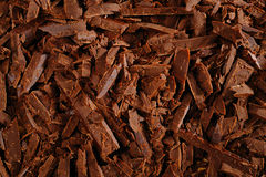 Chocolate pieces Stock Image