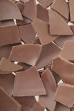 Chocolate pieces or chips Royalty Free Stock Photo